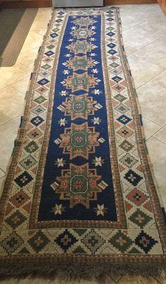 antique worn persian rug runner carpet 12 feet by 3 feet