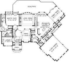 Plan W15674GE: Luxury, Photo Gallery, Premium Collection, Corner Lot, Traditional, European House Plans & Home Designs