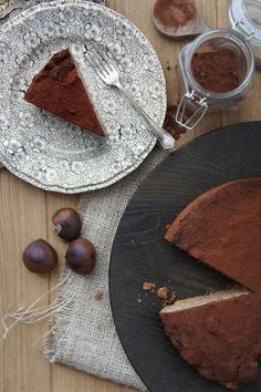 Miss Foodwise | Celebrating British food and Culture: Chestnut cake from Monteriggioni, Tuscany