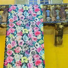 Floral repeat - Designers Guild PAVONIA FABRICS