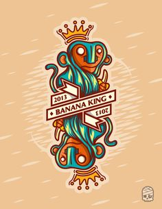 Banana King 2013 on Behance