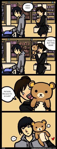 Bearface by hPolawBear