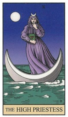 A Sacerdotisa (The High Priestess) - Alchemical Tarot Tarot Major Arcana, Daily Tarot, Occult Art, Oracle Cards, Tarot Decks, Archetypes, Drawings, Illustration, Artwork