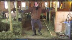 This dancing farmer will brighten your day and make you smile!