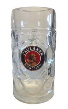 "Paulaner - vaso / jarra / jarro de cerveza 1,0 litros ""Masskrug"" - NUEVO in | eBay #paulaner #cerveca #munich #regalo"
