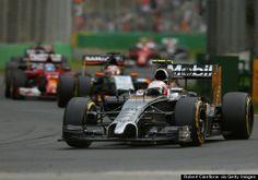 australian grand Prix Kevin Magnussen  finishes 3rd.