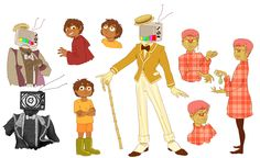 tpoh characters doodles by Orogenese.deviantart.com on @DeviantArt