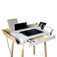 My Writing Desk // Single Drawer // White