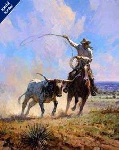 """Ropin' a Wild One"" by Martin Grelle"