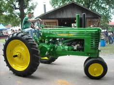 A History of The John Deere Model A General Purpose Tractor