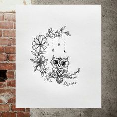 Image result for owl tattoos for wrist