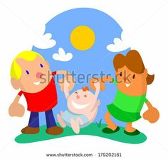 Happy husband and wife swinging their child on a bright summer day by AtomicBHB, via Shutterstock