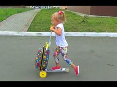 Самокат ЧЕМОДАН для детей Прикольная новинка!!! Scooter SUITCASE for kid...