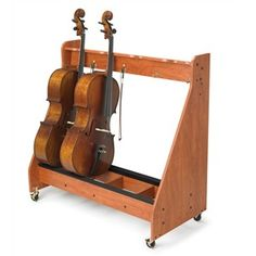 Instrument Storage Racks For Violins String Bass And