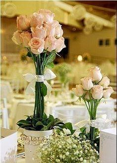 flor casamento mesa