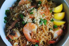 Pancit Bihon-The Duo Dishes