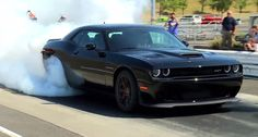 This is a burnout. It may be the Platonic ideal of burnouts—the burnout all others aspire to be. It's also, it turns out, a burnout you can make your own for just $59,995. Full official pricing details for the whole 2015 Challenger range were released today from the 707-horsepower 2015...