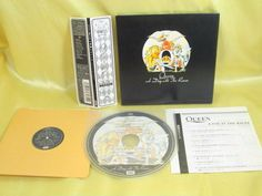 CD/Japan- QUEEN A Day At The Races w/OBI RARE mini-LP GATEFOLD COVER TOCP-67345