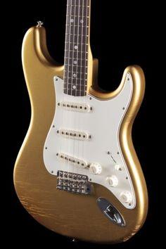 Fender Custom Shop Aztec Gold Strat Todd Krause MB