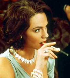 """Jacqueline Bisset   in a still from """"Murder on the Orient Express"""", 1974."""