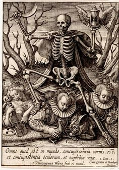 Work by Hieronymus Wierix, 1563-before 1619.