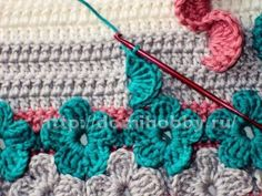 Amazing crochet stitch with instructions.