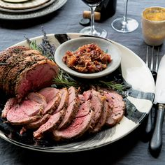 Roast Leg of Lamb with Rosemary and Lavender | Food & Wine