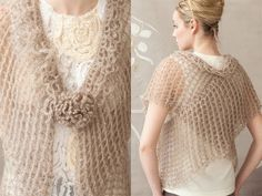 #4 Double Wrap, Vogue Knitting Crochet 2012