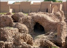 ruins of the ancient city of Babylon