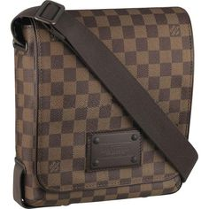 369ef57218c Cheap LV Brooklyn PM Damier Ebene Canvas N51210 Louis Vuitton Mens Bag, Louis  Vuitton Shoes