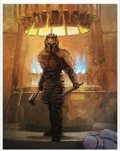 The Armorer by Brent Woodside Character Drawing, Character Design, Mandalorian Armor, Sci Fi Armor, Ahsoka Tano, Star Wars Fan Art, Star Wars Collection, Star Wars Characters, Boba Fett