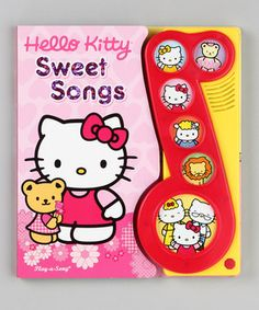 This Hello Kitty: Sweet Songs Sound Board Book by Hello Kitty is perfect! #zulilyfinds