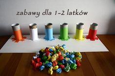 Kolorowe piłeczki – propozycje zabaw