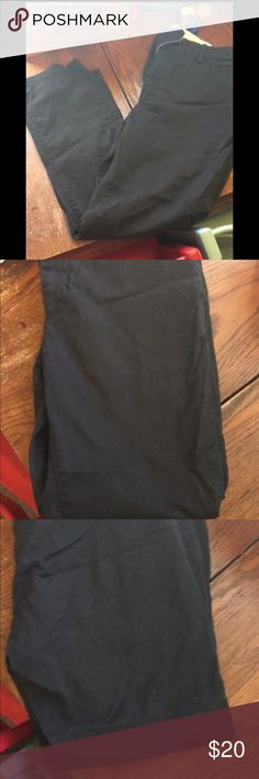 Levi's black plants Men's pants, worn once or twice and in excellent condition. Levi's Pants Chinos & Khakis