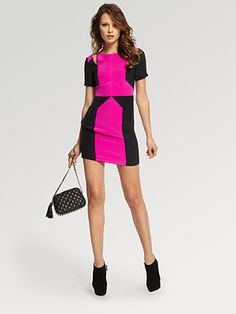 Date Night or Girls Night Out in this @Rebecca Minkoff Crystal Dress?