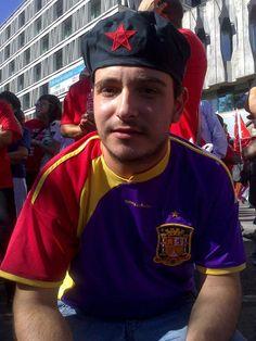 Gerard Escalera Buzón, nos manda esta foto de la Huelga General del 15-09-2012. Luchando, la victoria es posible.