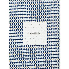 Kingsley Home Blue Diamond Superking Duvet Set