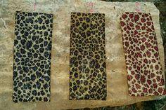 Shimmer Leopard Gold Headbands - Several Colors $5 www.gypzranch.com