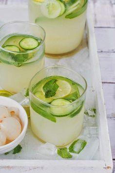 Lychee, cucumber, mint & ginger cooler Recipe. It's summer and stone fruits are already in season. King of fruits Mango,lychees,cherries you name it... I...