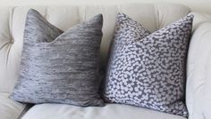 Designer Neutral Pillow Charcoal Gray Geometric by MotifPillows