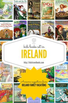 Looking for awesome travel books about Ireland? This collection of books was recommended by Ireland Family Travel expert. Introduce your kids to the world one country at a time - start in Ireland.