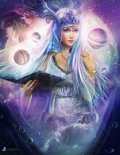 Mercury Goddess - ruling Virgo and Gemini