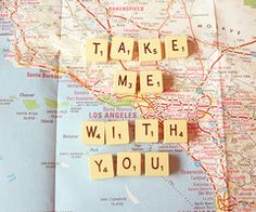 Travel. I want to say this to Eric every time he leaves :(