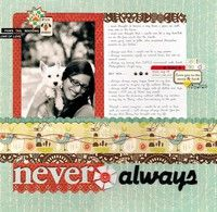 A Project by RebeccaLeighann from our Scrapbooking Gallery originally submitted 02/16/10 at 09:19 AM