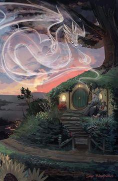 Sage Windfeather — The Hobbit This is my favorite book. I would love… Sage Windfeather – The Hobbit Dies ist mein Lieblingsbuch. Gandalf, Legolas, Thranduil, Jrr Tolkien, Hobbit Art, The Hobbit, Fantasy Kunst, Fantasy Art, Fan Art