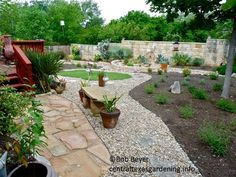 backyard landscaping without grass   director ed fuentes had a lot of fun taping this renovation even ...