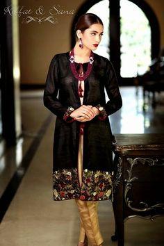 Sana Salman Midsummer Dress Collection 2014 by Riffat and Sana - She9 | Change the Life Style