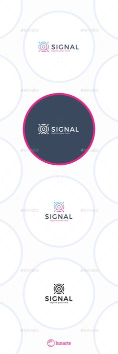 Satellite Signal Logo — Vector EPS #communication #wireless • Available here → https://graphicriver.net/item/satellite-signal-logo/11843033?ref=pxcr