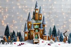 Gingerbread Fairytale Castle - Download this template