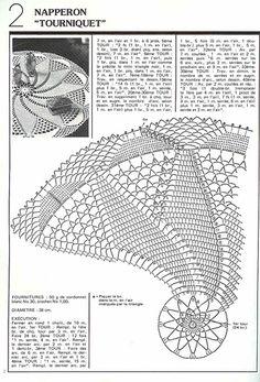 Photo from album on Yandex. Crochet Doily Diagram, Crochet Edging Patterns, Filet Crochet Charts, Crochet Motif, Free Crochet, Free Knitting, Knitting Patterns, Crochet Table Topper, Crochet Tablecloth